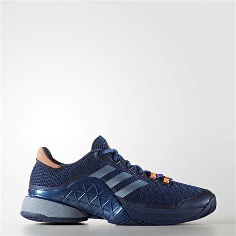 adidas mens barricade 2017 tennis shoes mystery blue tennisnuts