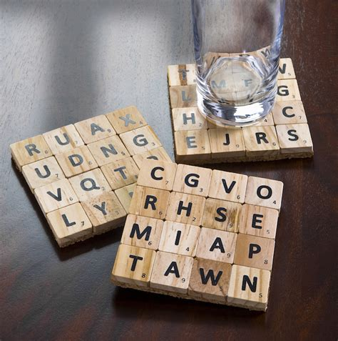 how to make scrabble how to make coasters from scrabble tiles mod podge rocks