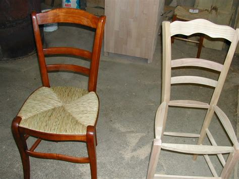 Comment Rempailler Une Chaise by Comment Reparer Une Chaise En Paille
