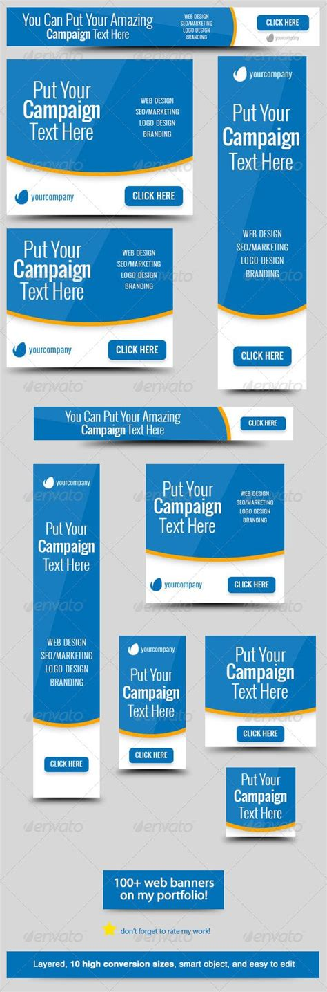 free banner ad templates bluestatic web banner web banners banner template and