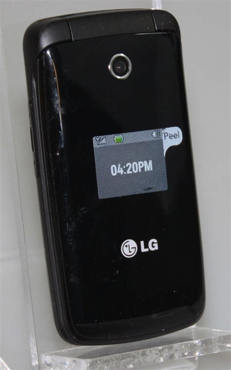tracfone lg flip phone new black tracfone lg 420g flip cell phone cellular gsm