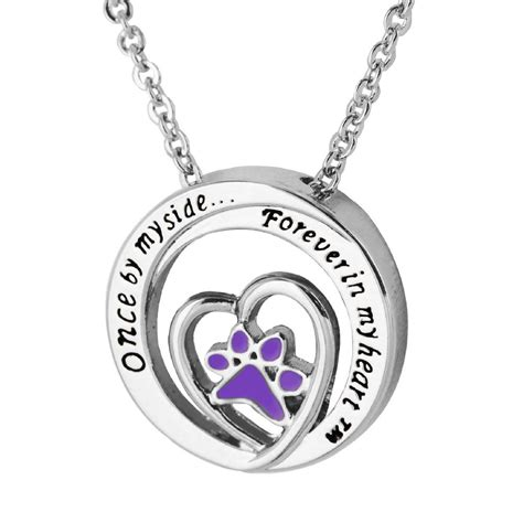 paw necklace paw print jewelry paw print necklaces pendants watches and bracelets at
