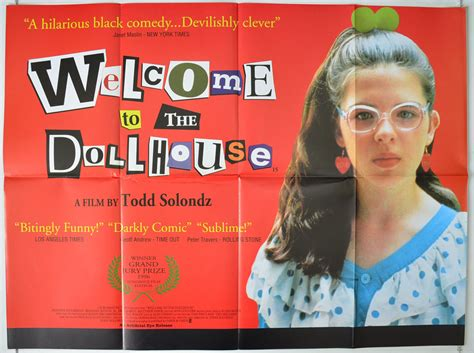 a doll house movie welcome to the dollhouse original cinema movie poster from pastposters com british
