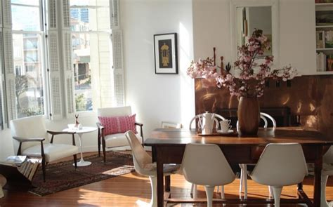 mixing modern chairs with antique table tulip chairs go home redesign hk white dining chairs