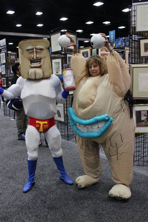 powdered toast man  krumm san diego comic  cosplays  popsugar tech photo