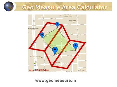 calculator area area calculator for land gps geo measure