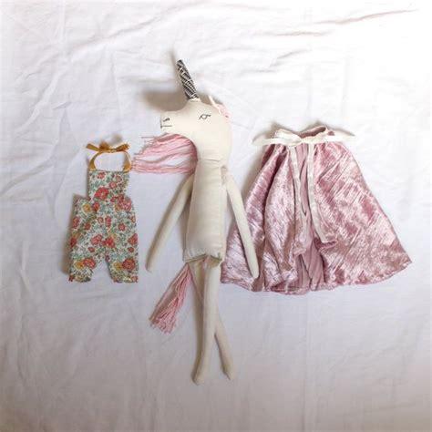 rag doll unicorn handmade unicorn princess rag doll 22 quot cloth doll