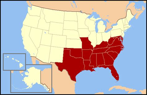 map of southern states what southern state has the best looking hotspots general u s page 5 city