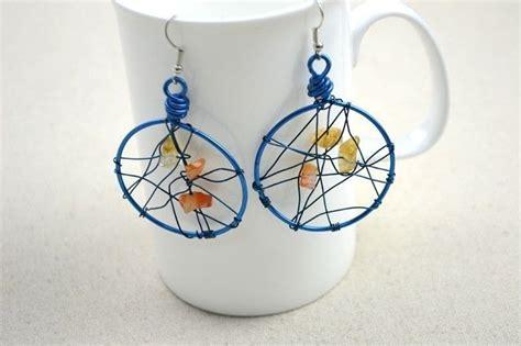 Unique Handmade - unique handmade jewelry diy dreamcatcher earrings in 3