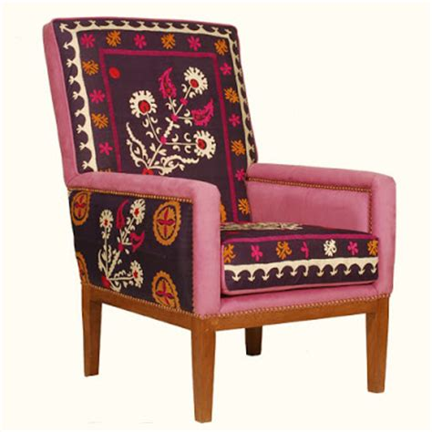 Suzani Chair by Inspire Bohemia Suzani Ikat Tables Chairs Sofas And Beds