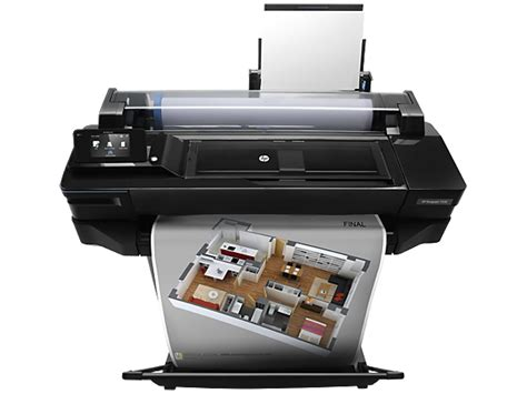 Printer Hp T520 hp designjet t520 24 in printer hp 174 official store
