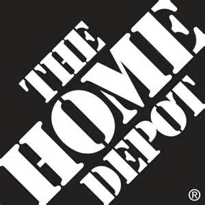 The home depot logo vector download in eps vector format