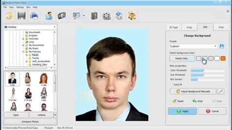 photo maker new passport photo editor for windows