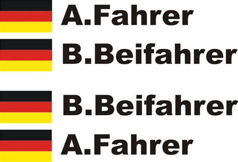 Wohnmobil Aufkleber Namen by Dtm Kart Motorsport Aufkleber Namen Und Flaggen