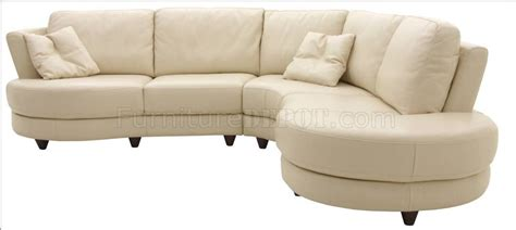 feet for sofa white sand leather modern sectional sofa w solid hardwood feet