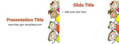 free children powerpoint templates ppt template free powerpoint templates