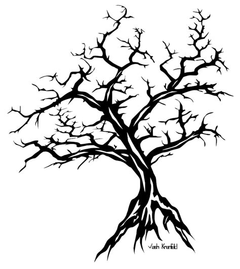 tribal tree tattoo designs tribal tree by vashkranfeld on deviantart
