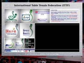 federazione tennis tavolo sito federazione internazionale tennis tavolo