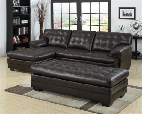 black sectional sofa with chaise furniture black tufted black leather sectional with chaise
