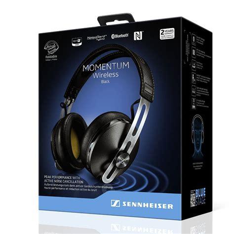 Sennheiser Momentum 2i Black sennheiser momentum 2 0 around the ear bluetooth wireless headphones aebt blac ebay