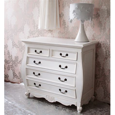 white bedroom drawers provencal bombe white chest drawers bedroom company