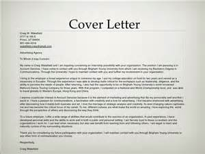 Advertising Agency Cover Letter by Advertising Portfolio