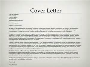 cover letter for advertising agency advertising portfolio
