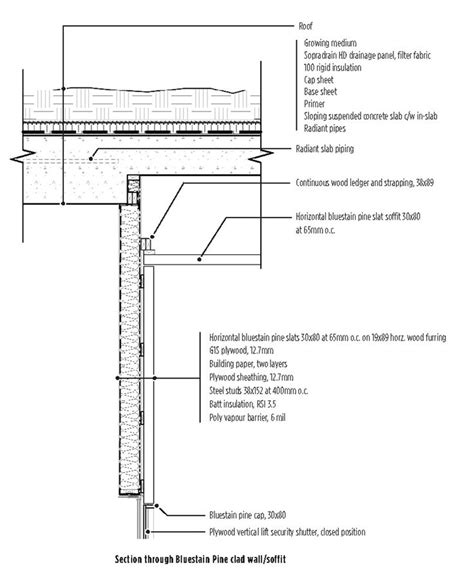 adobe wall section rammed earth wall to roof section detail google search