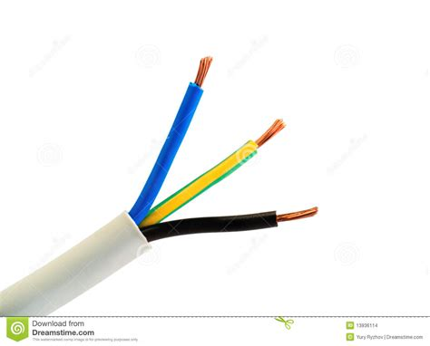 electrical power wire electrical power cable wires stock photo image 13936114