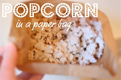 Popcorn In A Paper Bag - 301 moved permanently