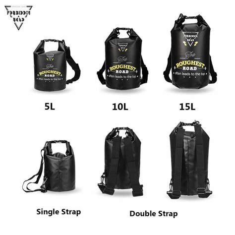 Safebag Waterproof Bag 5 Liter Berkualitas buy forbidden road 5l 10l 15l waterproof bag sack black from jbm gear