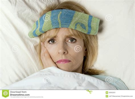sick bed im sick in bed stock image image 29352501