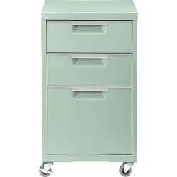Tps Mint 3 Drawer Filing Cabinet Cb2