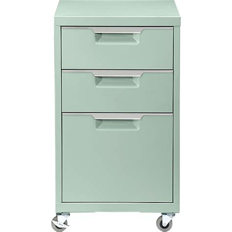 3 Drawer Filing Cabinet by Tps Mint 3 Drawer Filing Cabinet Cb2