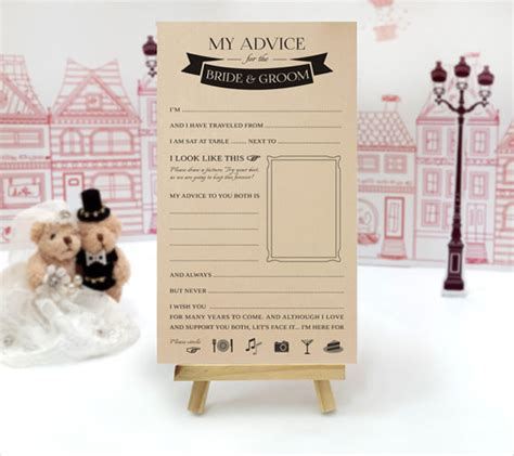 wedding advice cards template 63 wedding card templates free premium templates