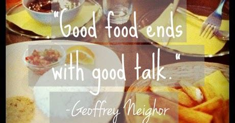 provender more than good food goodfood world good food ends with good talk more than sayings