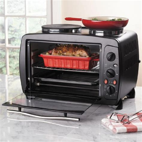 Toaster Oven With Burners brylanehome toaster oven with burners black 0