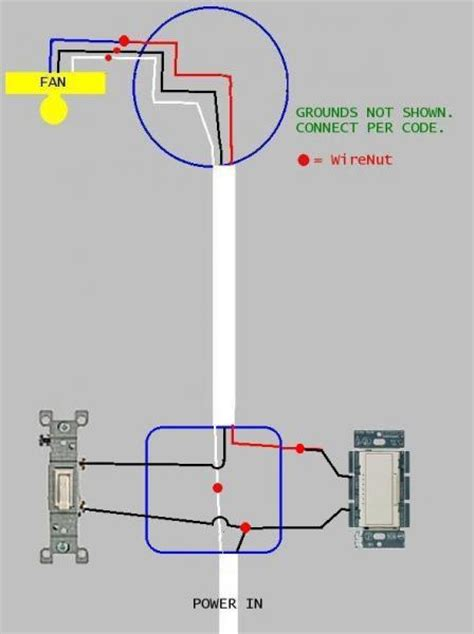 duplex light switch wiring diagram
