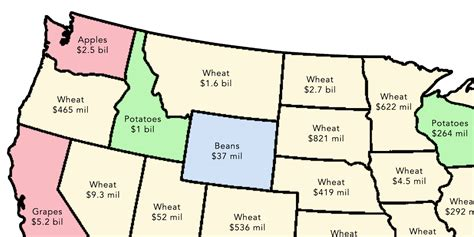 us agricultural regions map 2 simple maps that reveal how american agriculture