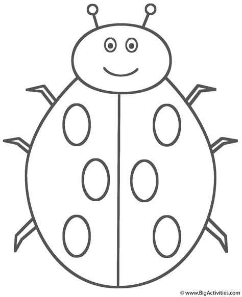 ladybug coloring pages for preschoolers simple coloring pages ladybugs template coloring pages