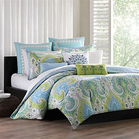 buy echo design sardinia reversible king duvet cover set