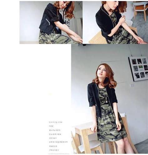 Dress Import Murah A30843 Apricot dress import loreng cantik model terbaru jual murah