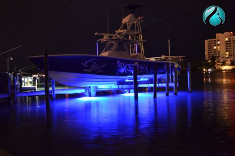 boat dock lighting fixtures underwater dock lights odyssea led underwater lights
