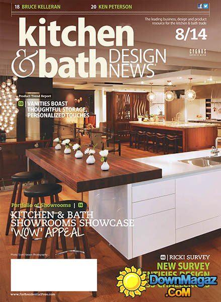 kitchen design magazines kitchen bath design news august 2014 187 download pdf