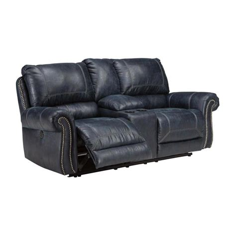 navy recliner 6330496 ashley furniture milhaven navy recliner