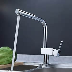 Contemporary Kitchen Faucets Contemporary Solid Brass Pull Out Kitchen Faucet Chrome Finish Faucetsuperdeal