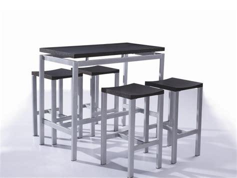 table haute de cuisine avec tabouret table rabattable cuisine table haute avec tabouret