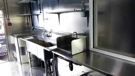 Mobile Pizza Catering Food Trailer Double Axle (inside
