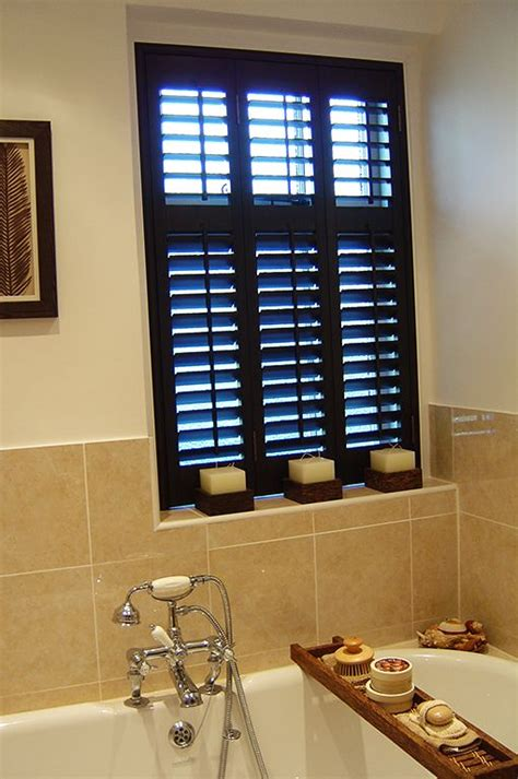 bathroom window shutters 40 best bathroom inspiration plantation shutters images