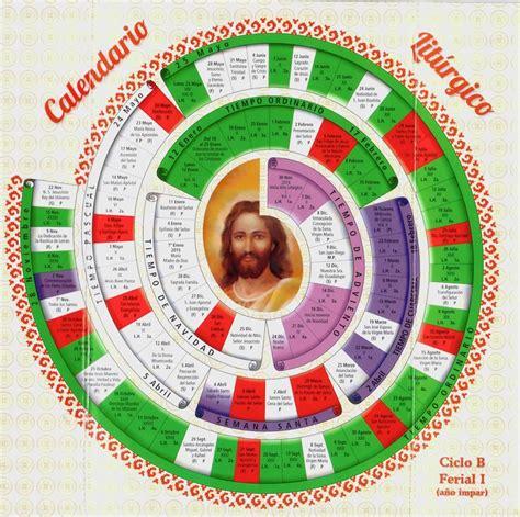 Calendario Liturgico Catolico 2015 Calendario Liturgico 2015